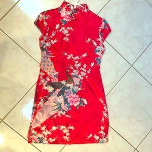 Asian cheongsam dress